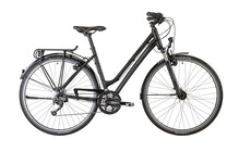 Cube Delhi Lady  velo trekking Femme gris/noir